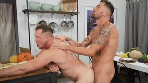 Drill My Hole: Pierced Archie beside Pierce Paris moaning
