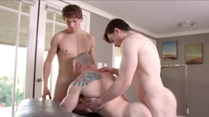 Next Door Buddies: Amateur Jaydon Jensen bareback facial