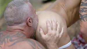 Icon Male - Casey Everett plus Lance Charger sensual kissing