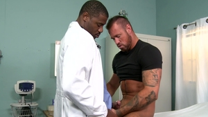 ExtraBigDicks.com: Gay Adonis Couverture condom facial