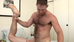 DylanLucas.com - Athletic and hairy Kory Houston rimming