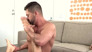 Dylan Lucas - Piercing Dominic  Pacifico teasing big cock