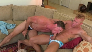 HotHouse - Johnny V with piercing Pierce Paris choke scene
