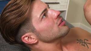 Hot House - Hairy Casey Everett begging in the pool