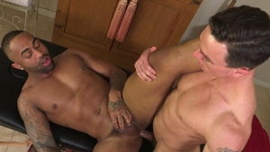 HotHouse: Passionate Remy Cruze and Cade Maddox pumping video