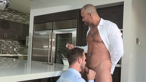 Falcon Studios: Rough nailing with Jason Vario & Logan Moore
