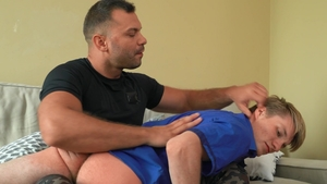 BROMO.com: Bear european Robi Dane & brown hair Dee spanking