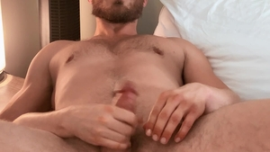 SeanCody: Hairy Cam very clean blowjob cum in the bed