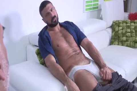 Brian Davilla And Marco Napoli - Bearded Bald Hung Beardad-bearded Hunk: Hj-rim-bb-oral-hj-love juice