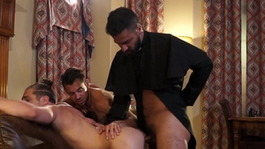 Falcon Studios - Adam Ramzi and Dante Colle in shower