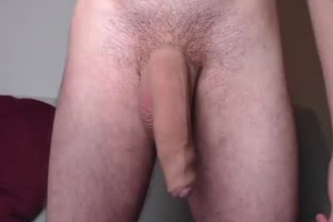 French guy Plays With His large biggest penis
