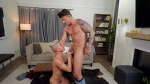 DrillMyHole.com: Twink JJ Knight impressed by Andy Taylor