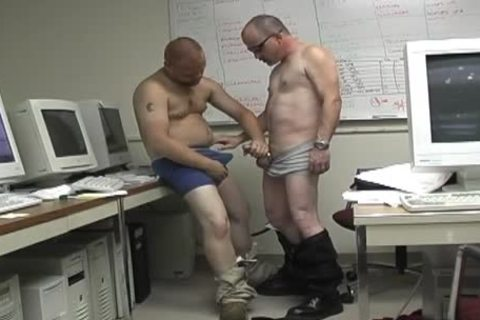 office blowjob is the superlatively good